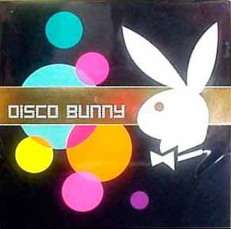 Blank Card: Playboy Square - Disco Bunny