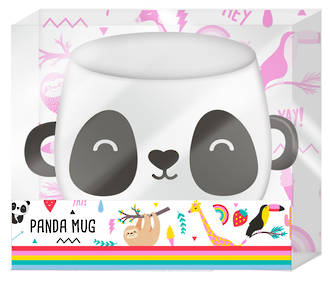 Happy Zoo Panda Mug