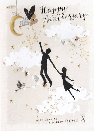 Anniversary Card Privee Moon And Back