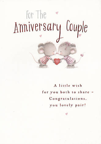 Anniversary Card Your Hallmark Lovely Pair