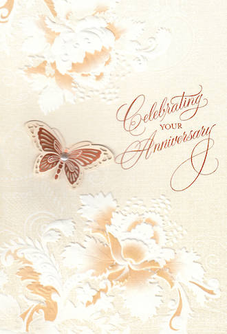 Anniversary Card Your Hallmark Butterfly
