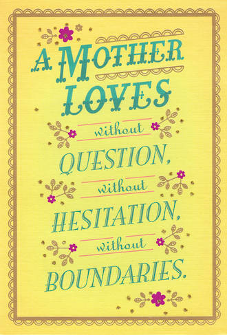 Mum Birthday Card Mother Hallmark Loves Without