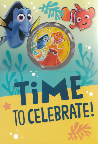Hallmark Interactive Birthday Card Finding Dory Celebrate