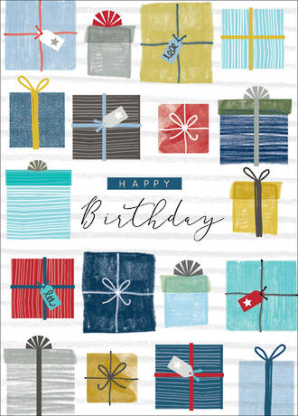 Birthday Card Teen Male Halcyon Gifts