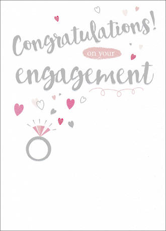 Engagement Card Special Occasions