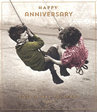 Anniversary Card Your Love Unlimited Swing