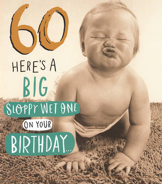 Birthday Age Card 60 General Funny Works