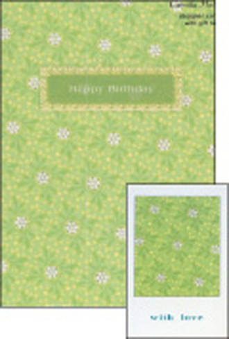 Female Birthday Card: Pinafore Maryland