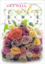 Get Well Card Posies & Petals Wish