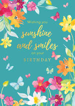 Blooming Botanicals Birthday Smiles