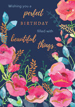 Blooming Botanicals Birthday Perfect