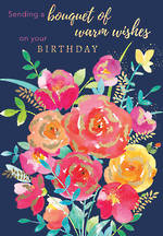 Blooming Botanicals Birthday Bouquet