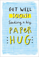 Get Well Card Straight Talkin Hug