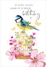 Azalea Birthday Bird Cage