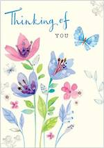 Sympathy Card Thinking of You Tallulah Rose