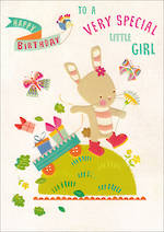 Kids' Birthday Card Bunny