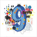 Birthday Age Card 9 Boy Hashtag