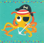 Piece of Cake Pirate Octopus