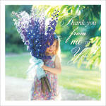 Thank You Card Wishing on a Star Bouqet