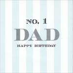Dad Birthday Card Velvet Ink No 1
