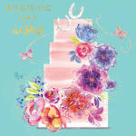 Wedding Card Lemongrass Cake