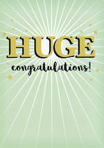 Congratulations Card Huge