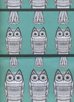Sheet Wrap Owls Green