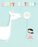 Ink Press Birthday Unicorn