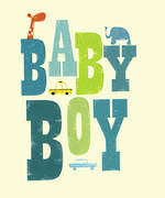 Baby Card Boy Ink Press