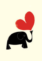 Ink Press Elephant Heart