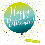 Retirement Card Pop Fizz Clink Square