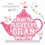 Grandmother Birthday Card Cherry On Top Lovely