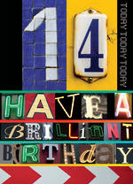 Birthday Age Card 14 Male Brilliant