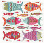 Nancy Nicholson Bright Fish