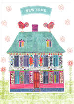 New Home Card Nancy Nicholson