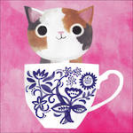 Planet Cat Studio Teacup