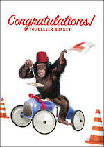 Congratulations Card Driving Test
