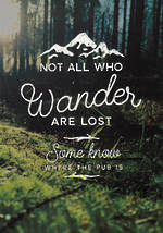 Quoteunquote All Who Wander