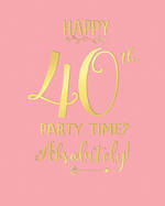 Birthday Age Card 40 Female Tiffany Sky