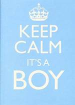 Baby Card Boy Keep Calm