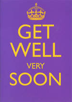 Get Well Card Keep Calm Very Soon
