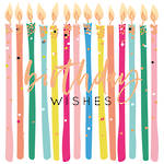 No78 Female Birthday Wishes Candles
