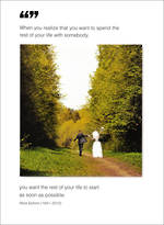 Wedding Card Quoteunquote Rest of Life