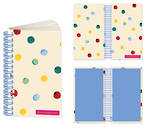 Emma Bridgewater Dots Slim Twin Wire Notebook