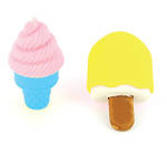 Novelty Eraser Set Small Ice Creams