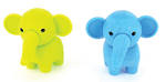 Novelty Eraser Set Small Elephants