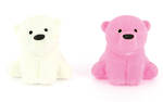 Novelty Eraser Set Small Bear Cubs
