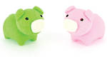 Novelty Eraser Set Small Pigs