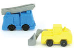 Novelty Eraser Set Small Trucks