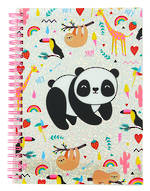 Happy Zoo Holographic A5 Notebook